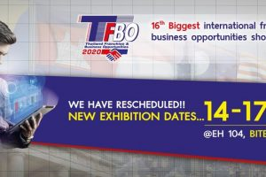 Thailand Franchise & Business Opportunity 2020 (TFBO 2020)