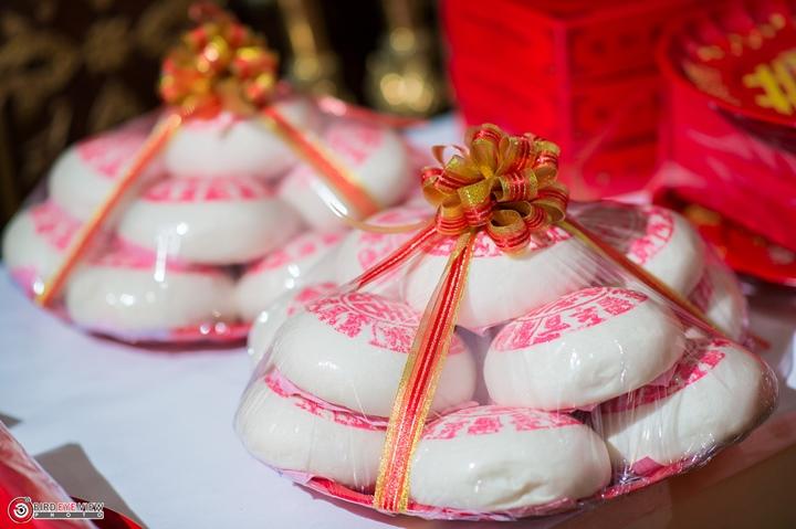 ขนมหวานที่ใช้ในงานแต่งงานพิธีจีน